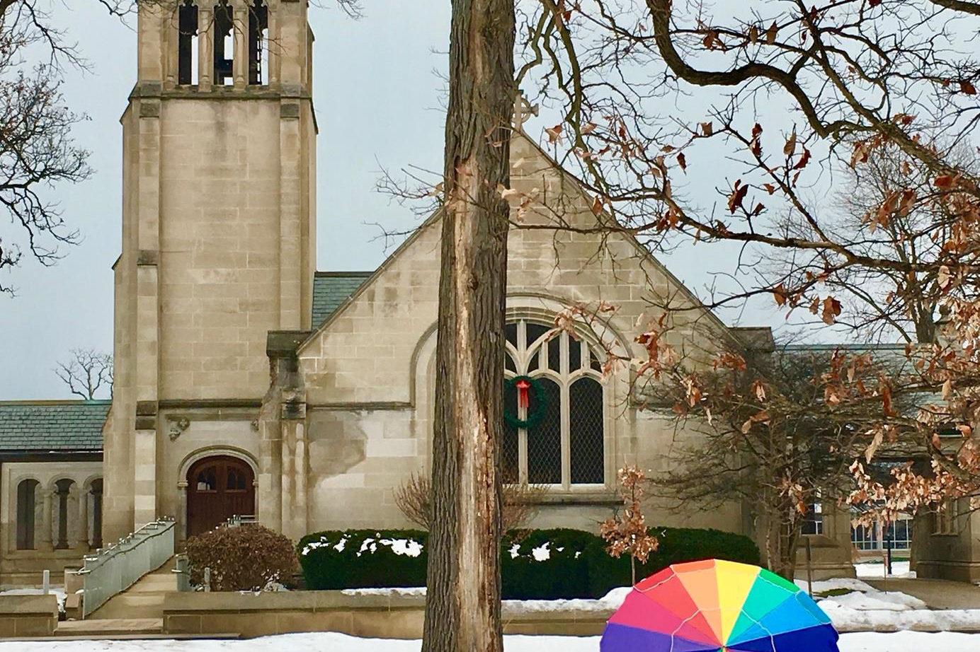 Lily Reid Holt Chapel in the Wintertime
