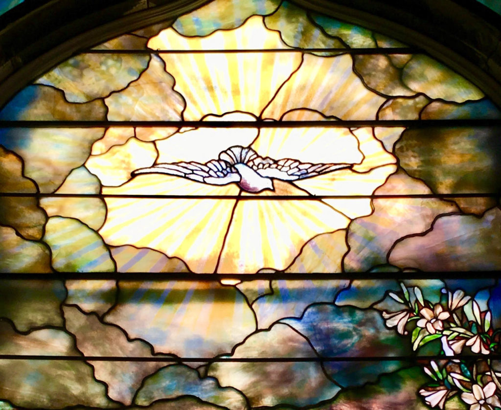Tiffany Stained Glass in Chapel